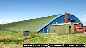 Hangar 858 at RAF St Athan
