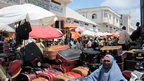 People at Bakara market