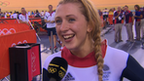 Laura Trott delighted after winning omnium