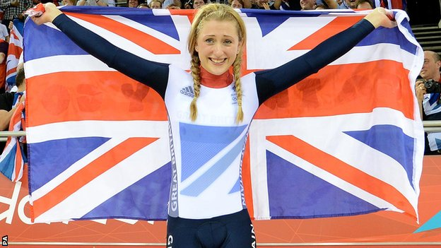 TEAM GB cyclist Laura Trott