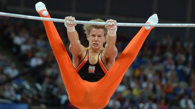 Netherland&#039;s Epke Zonderland 