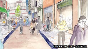 Artist's impression of Silver Street