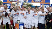 Cowdenbeath were Division Two champions