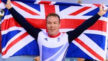 Sir Chris Hoy wins keirin gold at London 2012
