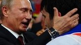 Vladimir Putin at the judo