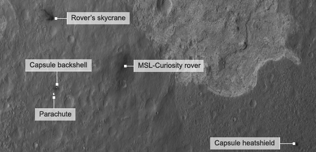 curiosity landing site - photo #19