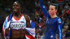 Christine Ohuruogu and Beth Tweddle