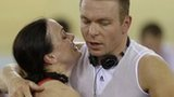 Victoria Pendleton and Sir Chris Hoy