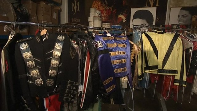 Some of Michael Jacksons&#039;s costumes