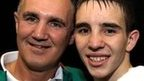 Billy Walsh with Michael Conlan