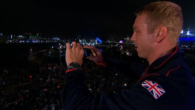Great Britain's Sir Chris Hoy