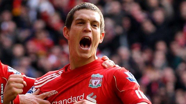 Liverpool defender Daniel Agger