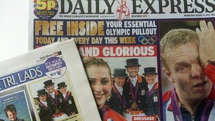 Daily Express and Daily Mirror