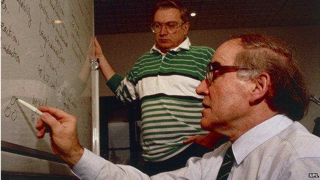 Martin Fleischmann and Stanley Pons