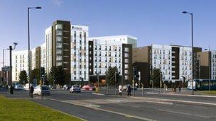 University of Liverpool new student accommodation