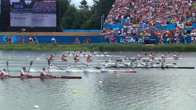 Women&#039;s K4 500m final