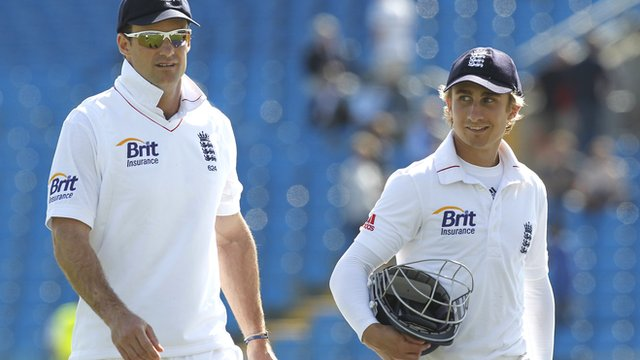 Andrew Strauss (left) and James Taylor