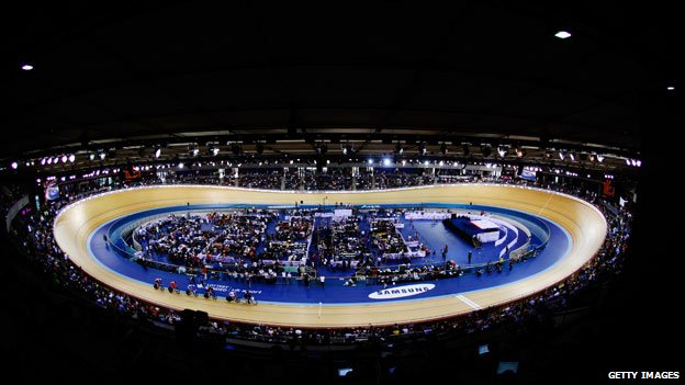Velodrome in February