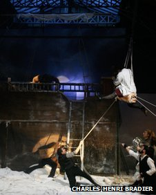 Theatre du Soleil's Les Naufragés Du Fol Espoir is one of the major productions