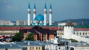 Kul Sharif mesquita, Kazan