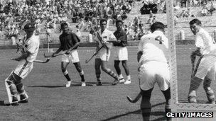 Pakistan v Australia, 1960 Olympics in Rome 