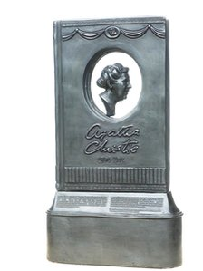 Agatha Christie statue