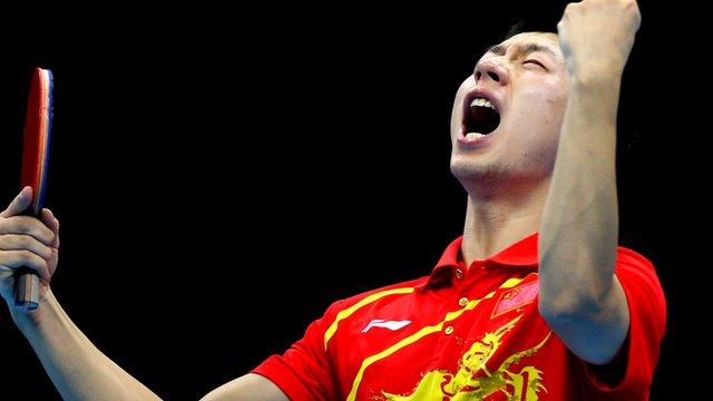 Ma Long of China