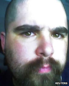 "Wade Michael Page, 40, is seen in this undated picture from a myspace.com web page for the musical group ""End Apathy"""
