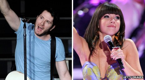 Owl City and Carly Rae Jepsen