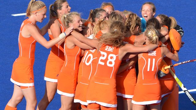 Dutch women's hockey team