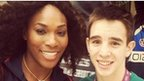 Serena Williams and Michael Conlan