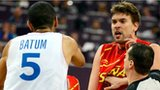 Marc Gasol and Nicolas Batum