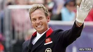 Carl Hester at the London 2012 Olympic Games