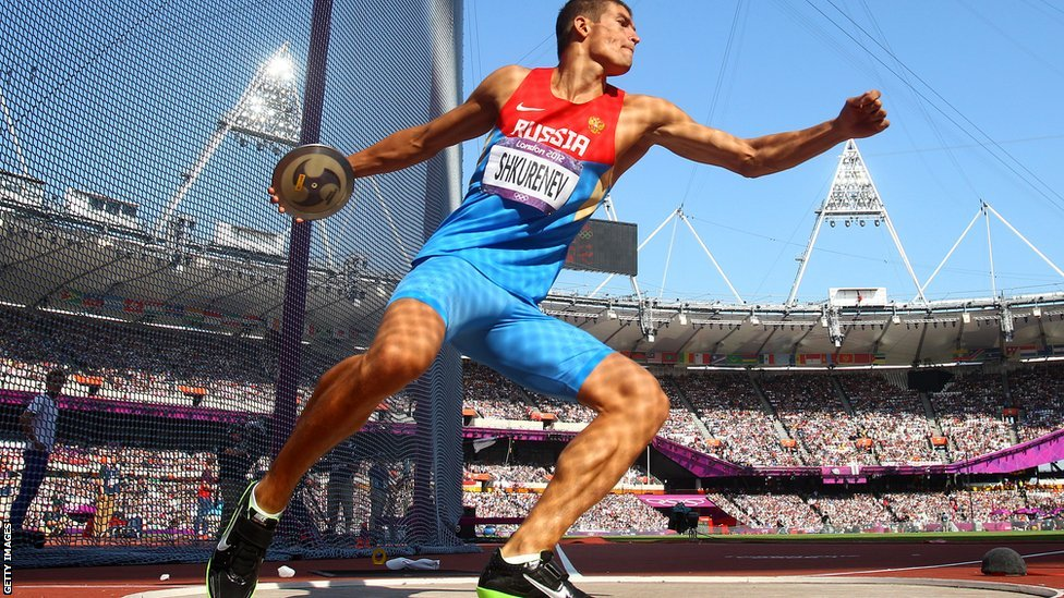 Discus Throw Olympics Discus at The Olympic