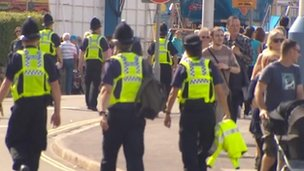 Dorset Police, Weymouth and Portland Olympics