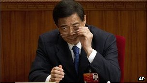Bo Xilai, file image from 11 March 2012