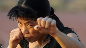 Indian boxer MC Mary Kom