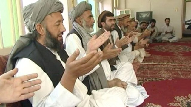 An Afghan Jirga gathering