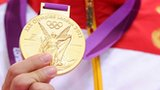 The Olympic gold medal