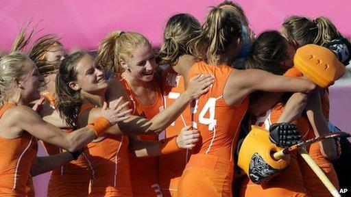 Netherlands hockey players