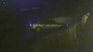 Picture of the car police wish to trace in connection with the hit-and-run
