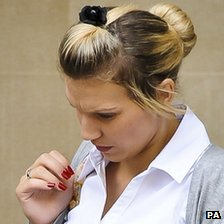 PC David Price's former partner Emily Bayliss, 27.