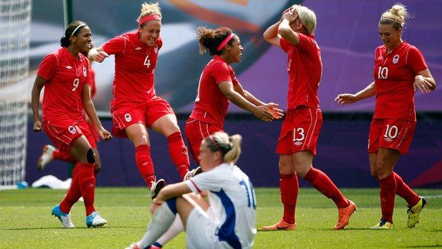 Canada celebrate Olympic bronze