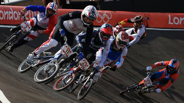 Olympic Cycling BMX
