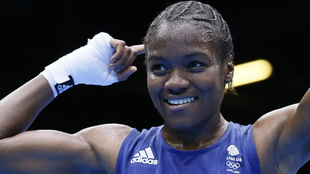 Watch as Nicola Adams wins historic boxing gold at London 2012
