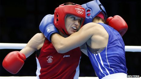 Katie Taylor fights Russia&#039;s Sofya Ochigava