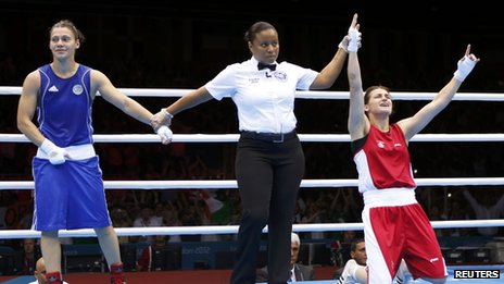 Katie Taylor declared victor over Russia&#039;s Sofya Ochigava