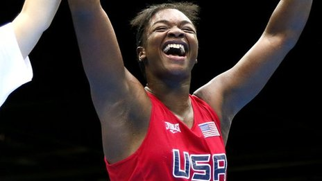 Claressa Shields of USA