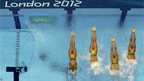Spain's women's synchronised swimming team