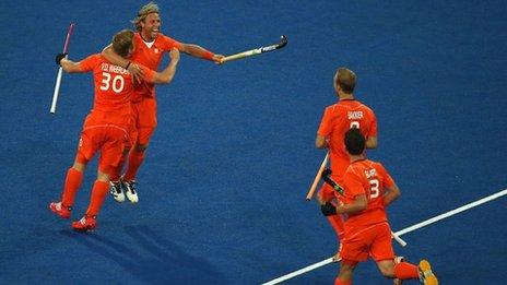 GB men suffer heavy hockey defeat